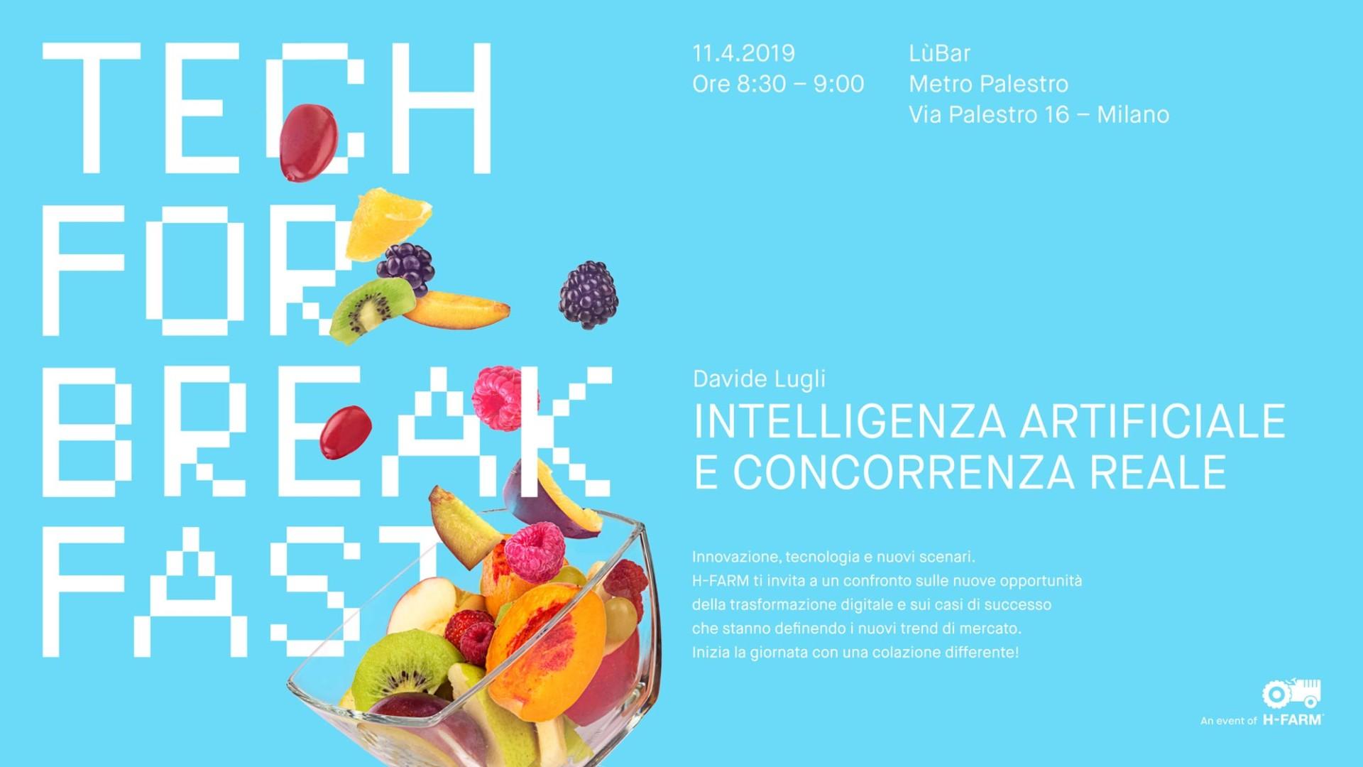 Alberto Fontana ↑    Tech for Breakfast