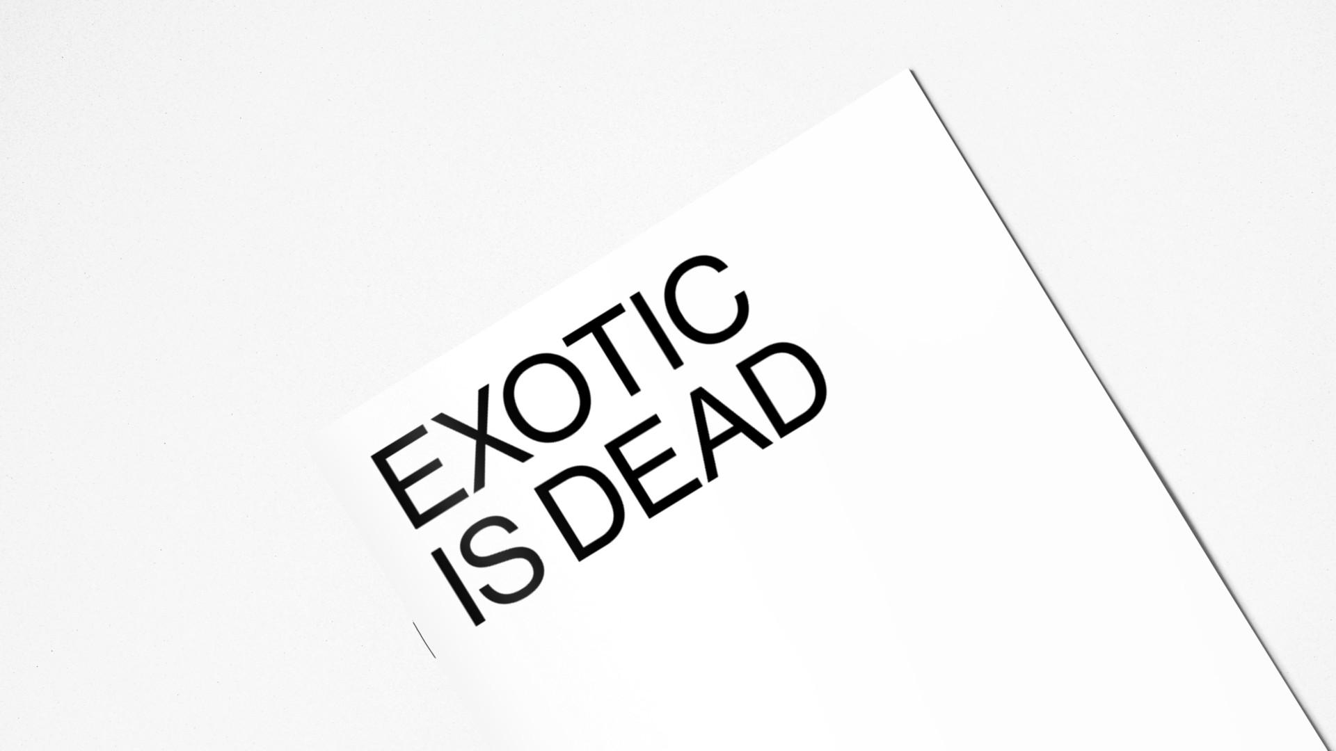 Alberto Fontana ↑   Exotic is dead